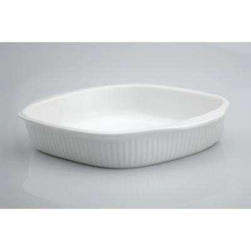 Bianco Porcelain Square Baking Dish