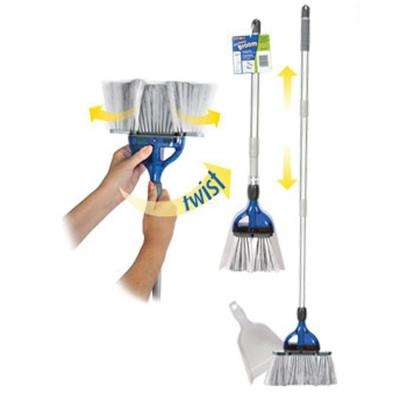 StorMate Broom-Extendable and Collapsible Broom for RV, Marine, Home Use