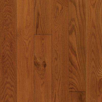 Gunstock Oak 3/8 in. Thick x 3 in. Wide x Random Length Engineered Hardwood Flooring (23 sq. ft. / case)