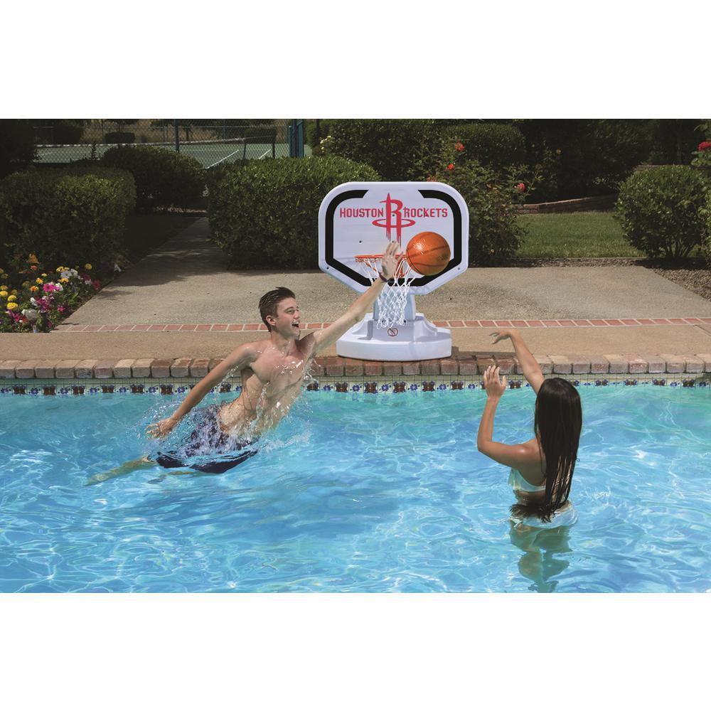 Poolmaster Houston Rockets NBA Competition Swimming Pool Basketball Game
