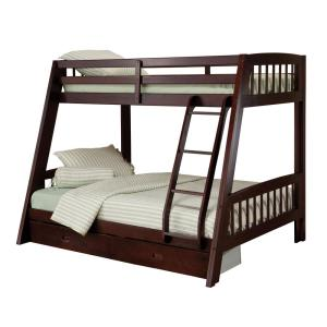 promo code f5bb8 edc33 Rockdale Espresso Twin Over Full Bunk Bed