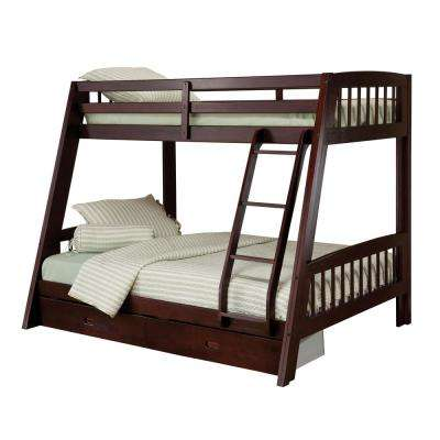 Rockdale Espresso Twin Over Full Bunk Bed