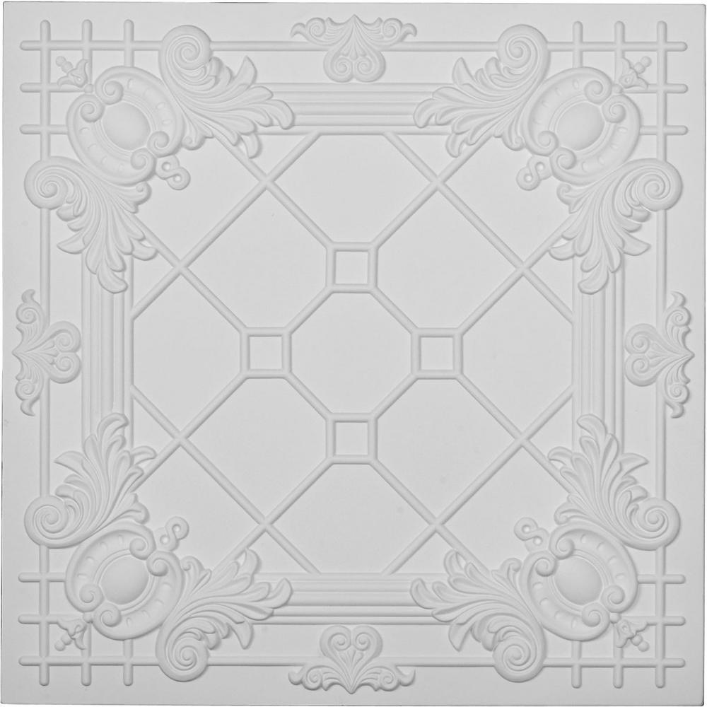 Hillsborough 2 ft. x 2 ft. Glue-up Ceiling Tile