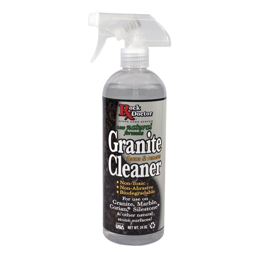 Natural Marble Cleaner : Rock doctor natural granite cleaner the home depot