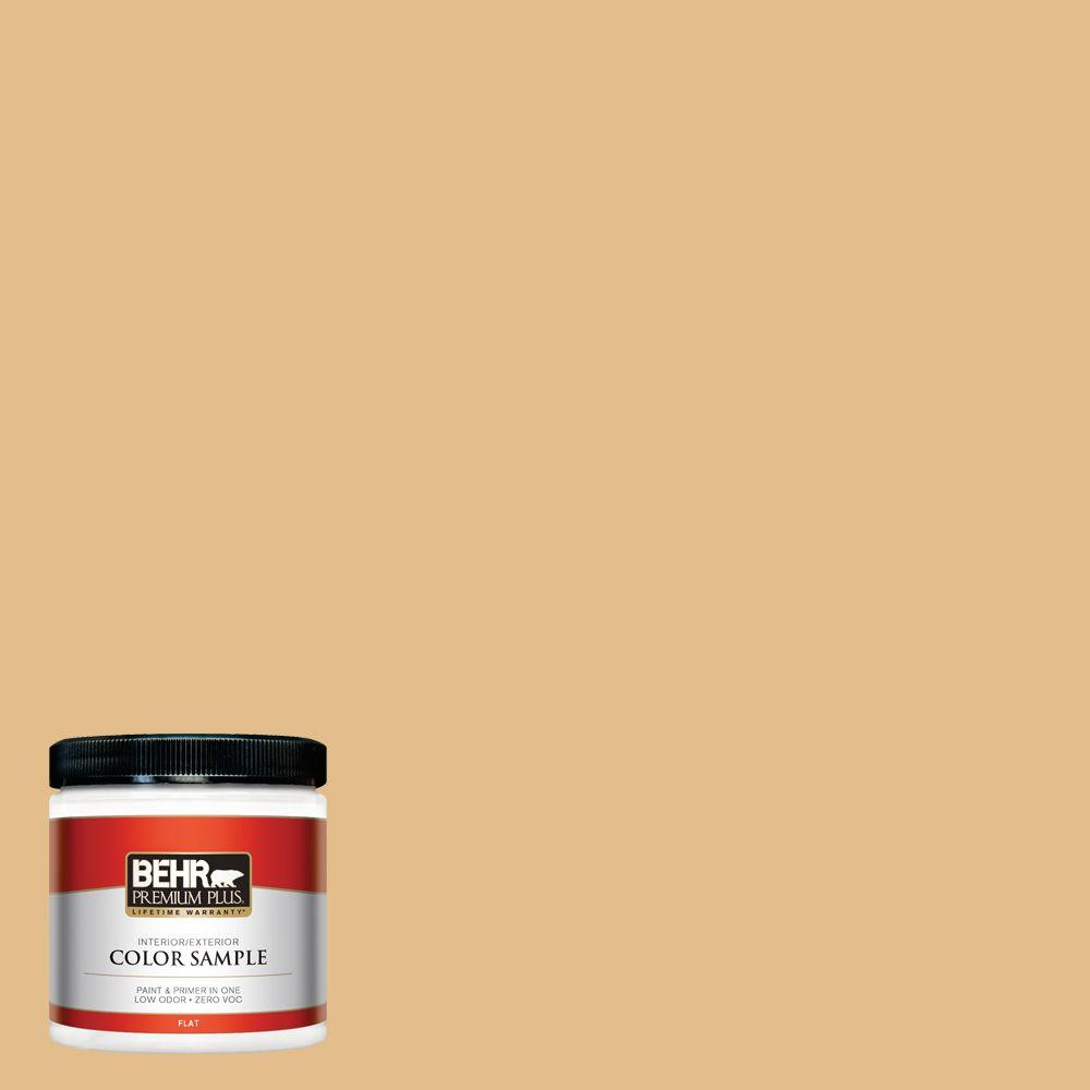 8 oz. #330D-4 Warm Muffin Interior/Exterior Paint Sample