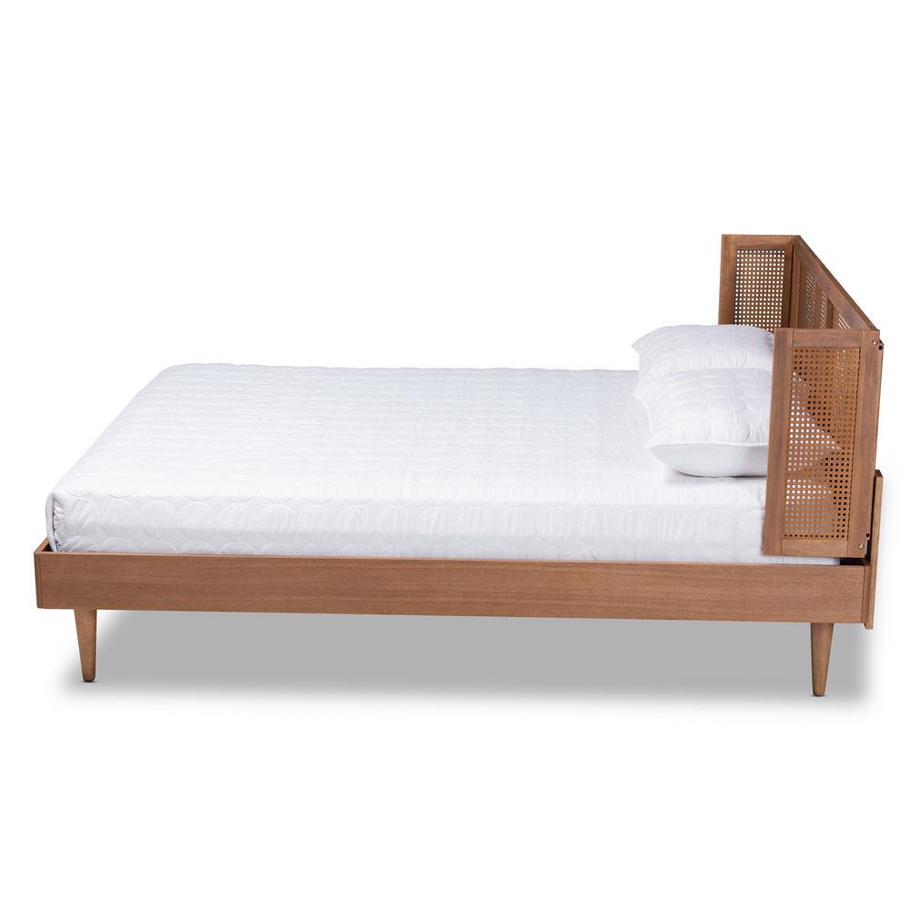 Peachy Baxton Studio Rina Ash Walnut Queen Platform Bed 159 Unemploymentrelief Wooden Chair Designs For Living Room Unemploymentrelieforg