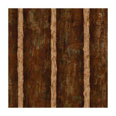 Best of Country Log Sidewall Wallpaper