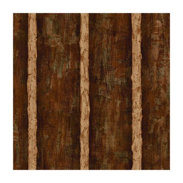 York Wallcoverings Best of Country Log Sidewall Wallpaper WG0437