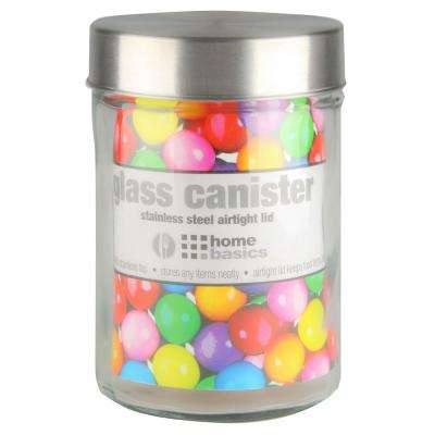 40 Oz. Glass Round Canister