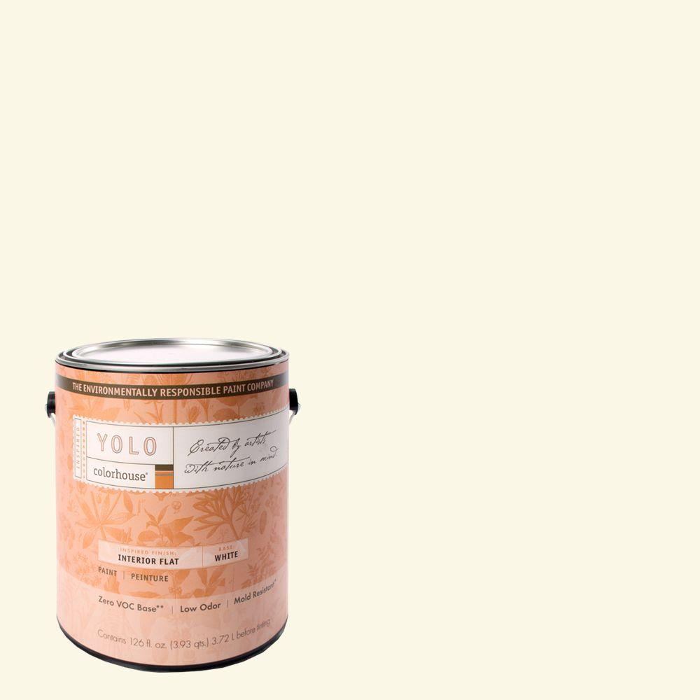 YOLO Colorhouse 1-gal. Air .01 Flat Interior Paint-DISCONTINUED