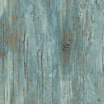8 in. x 10 in. Laminate Sheet in Chesapeake Antique Wood with Virtual Design SoftGrain Finish