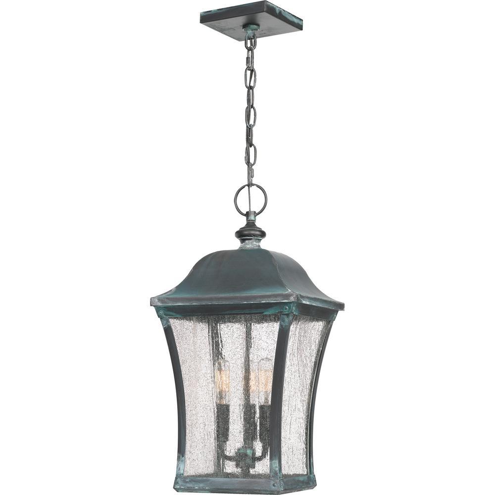 Bardstown 3-Light Iron Outdoor Pendant Light