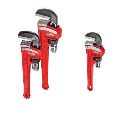 Heavy Duty Pipe Wrench Bundle