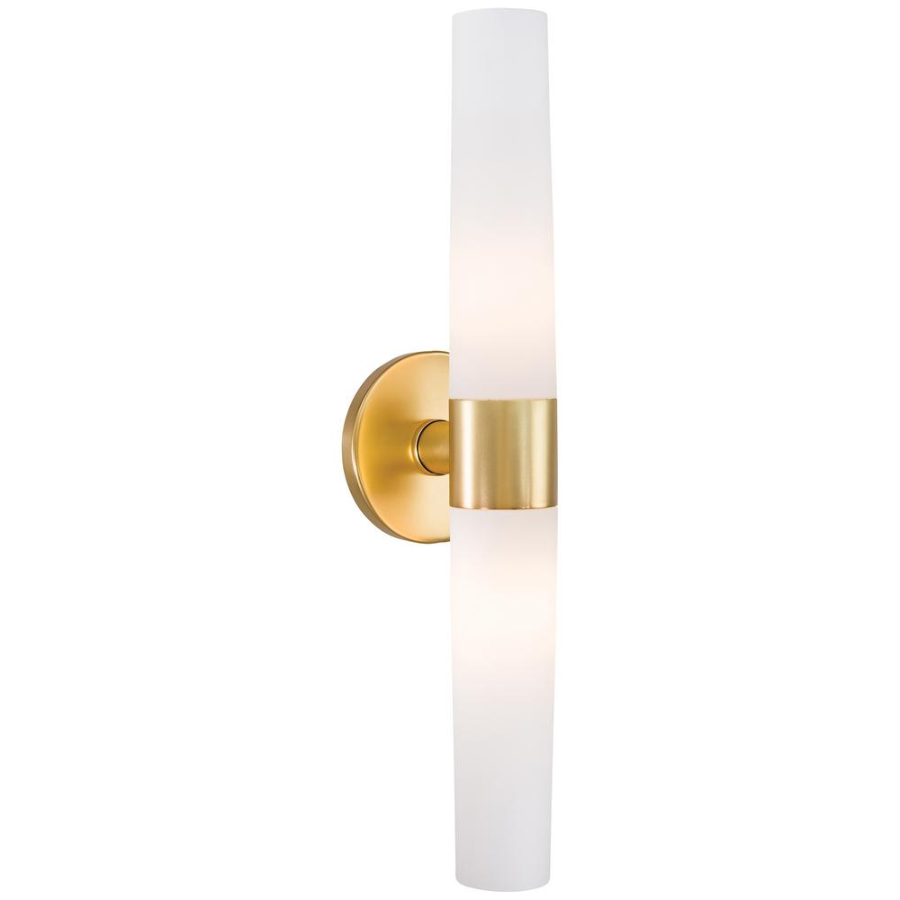 George Kovacs Saber 2 Light Honey Gold Wall Sconce