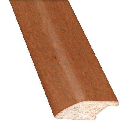 Burnished Straw / Tea 3/4 in. Thick x 2.25 in. Wide x 78 in. Length Hardwood Lipover Reducer Molding