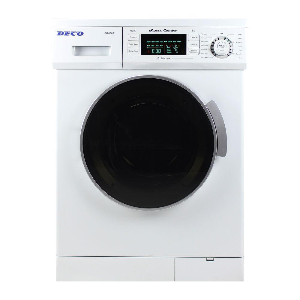 All-in-One Compact Combo Washer and Electric Dryer with Optional