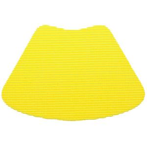 Kraftware Fishnet Wedge Placemat in New Yellow (Set of 12) by Kraftware