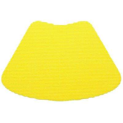 Fishnet Wedge Placemat in Yellow (Set of 12)
