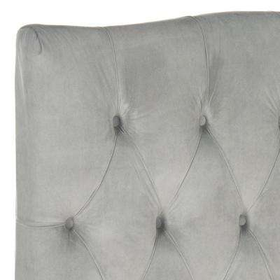 Axel Pewter Twin Headboard
