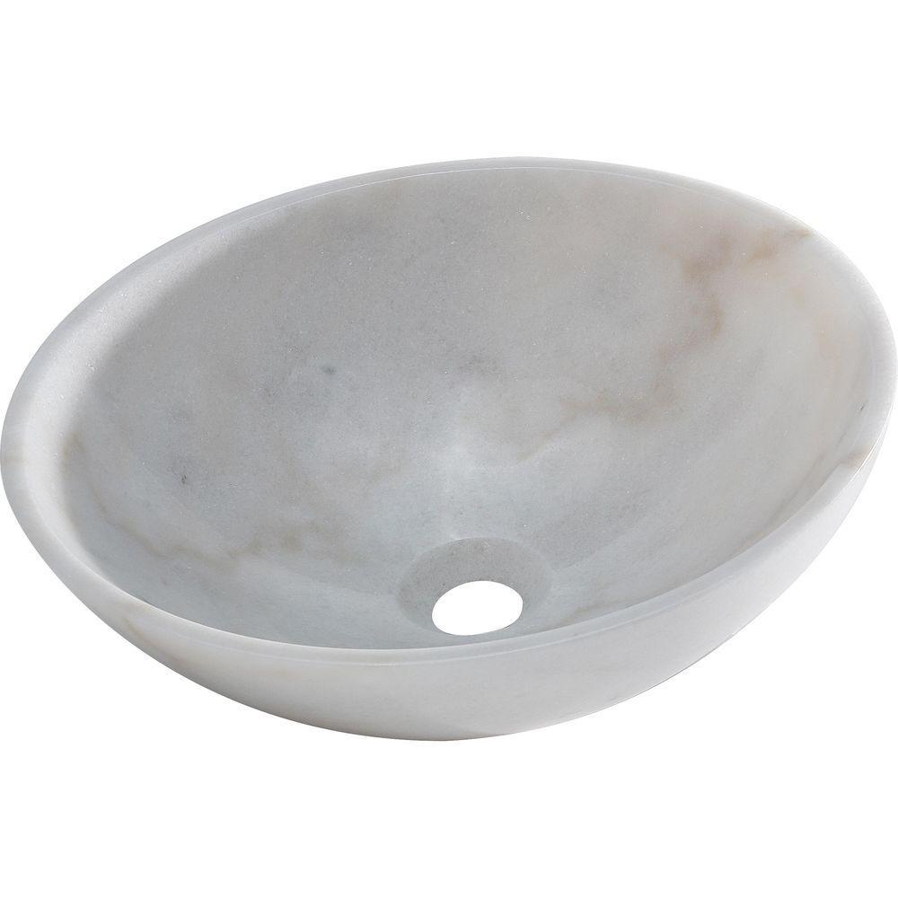 Brielli Vessel Sink in White