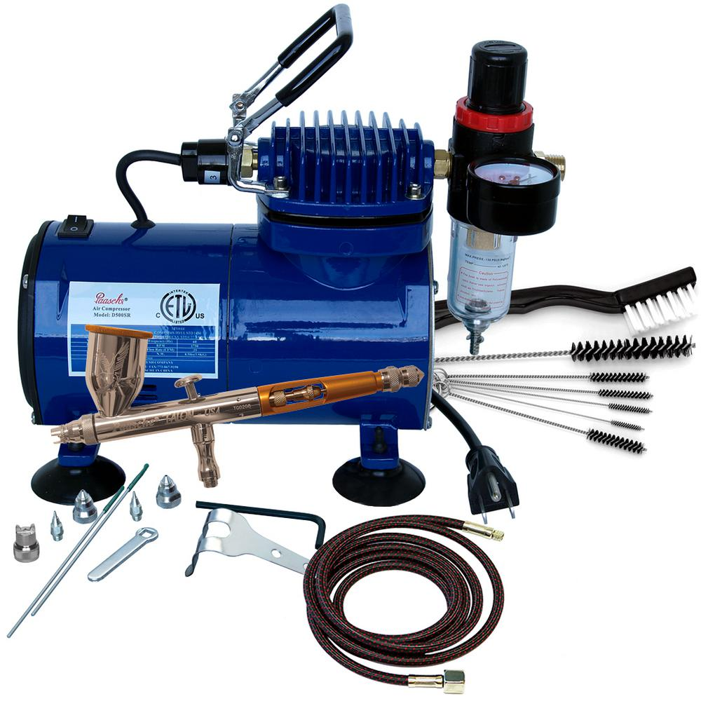 Paasche Airbrush Package (TG-3F, D500SR and AC-7)