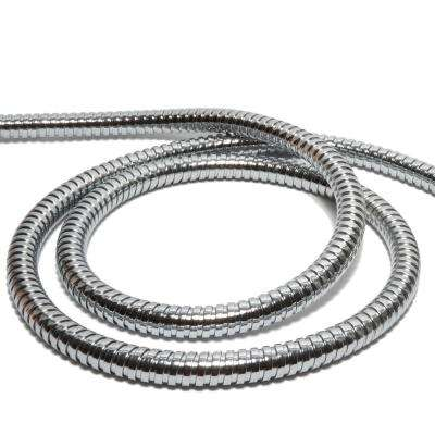 Stretchable 60 in. Replacement Hose for Hand Showers in Stainless Steel
