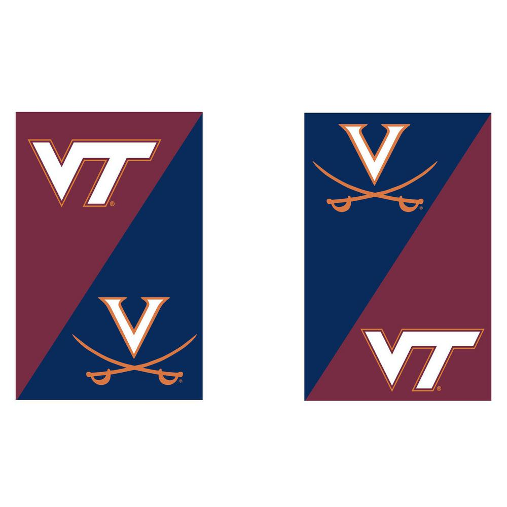 Gentil University Of Virginia/Virginia Tech House Divided