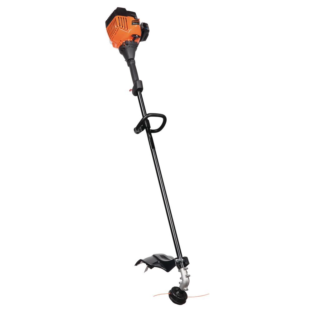 Gas String Trimmer Straight Shaft Handheld Grass Cutter Dual Bump