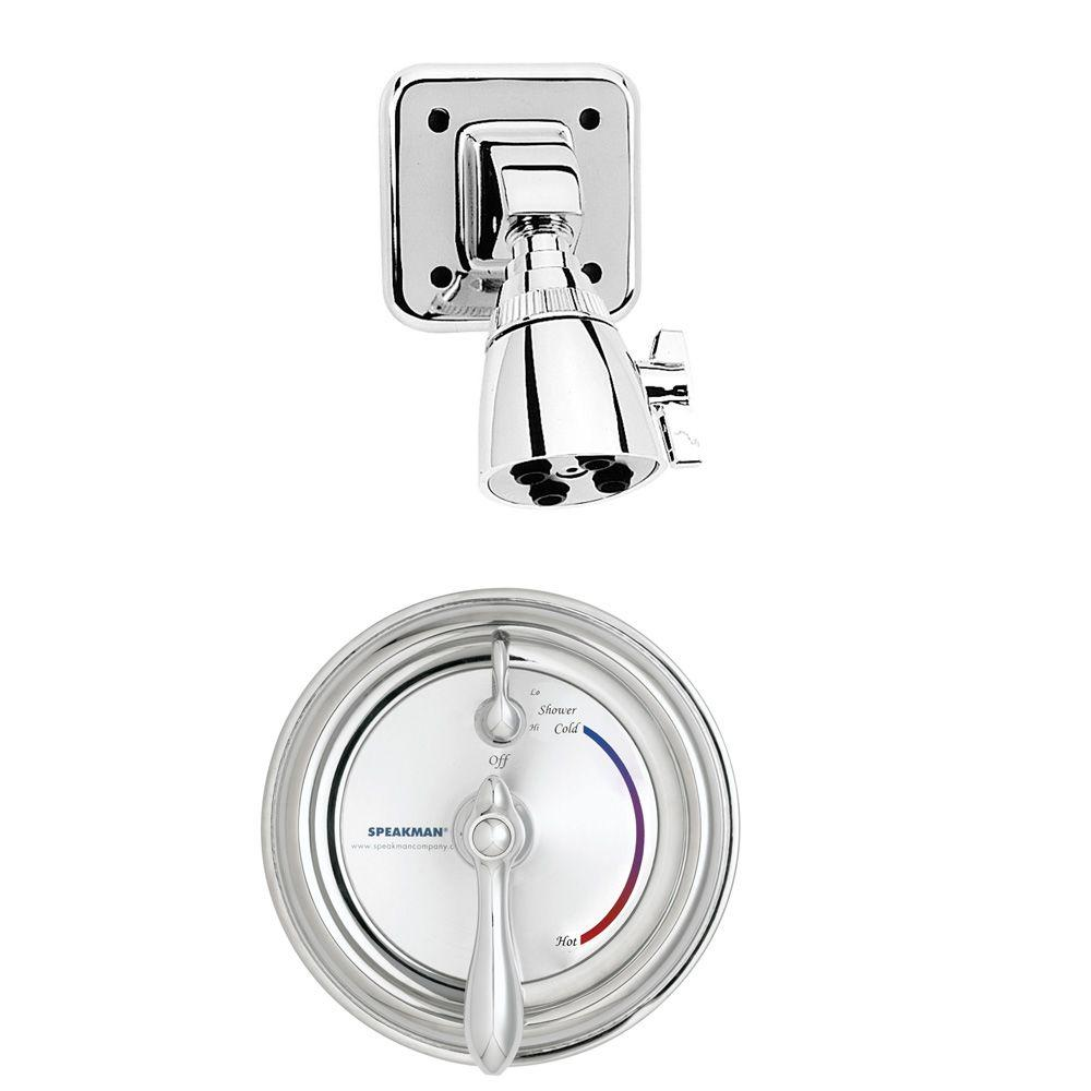 Sentinel Mark II Regency 1-Handle 1-Spray Shower Faucet with Pressure Balance