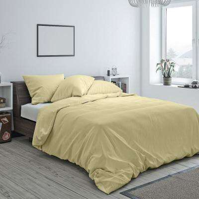 Heritage Cotton Duvet Wheat Queen