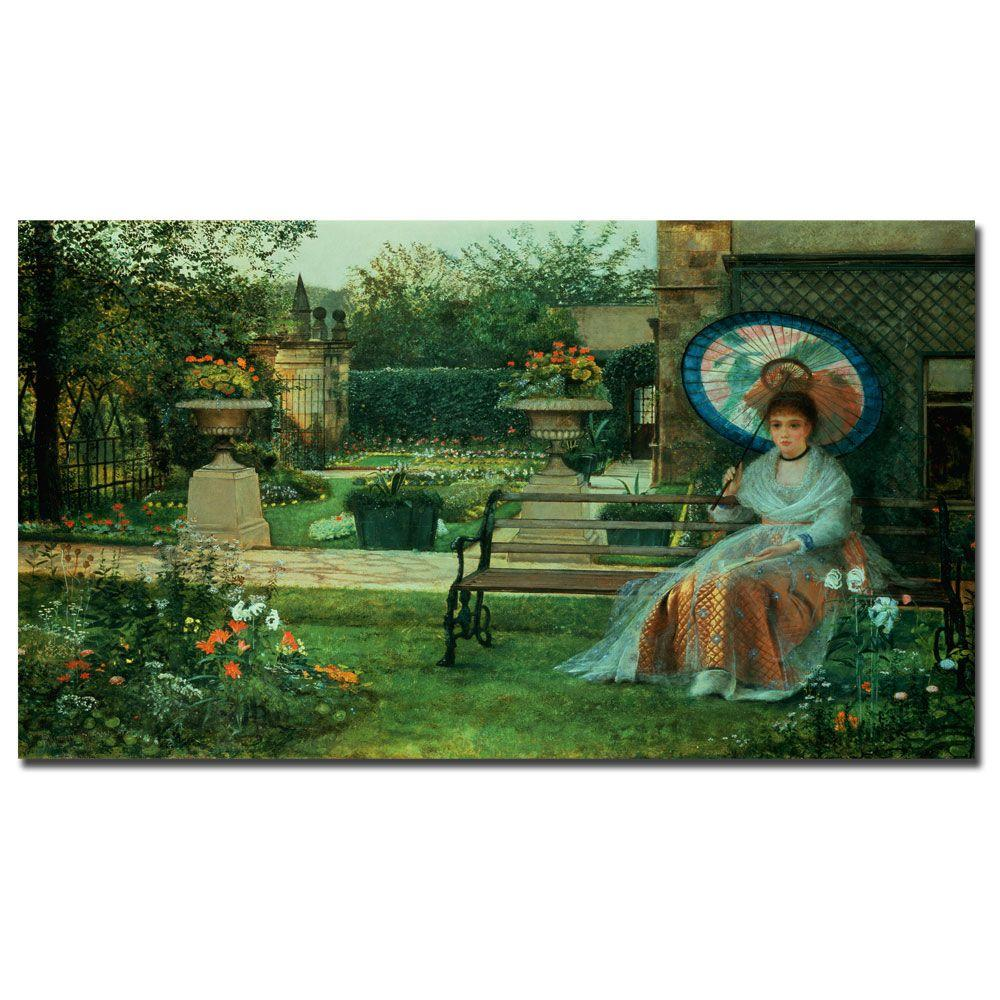 18 in. x 32 in. In the Pleasaunce Canvas Art