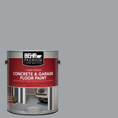 1 gal. #N530-4 Power Gray 1-Part Epoxy Concrete and Garage Floor Paint