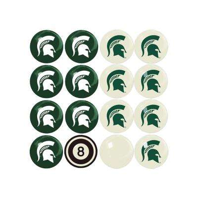 Michigan State Home Versus Away Billiard Ball Set