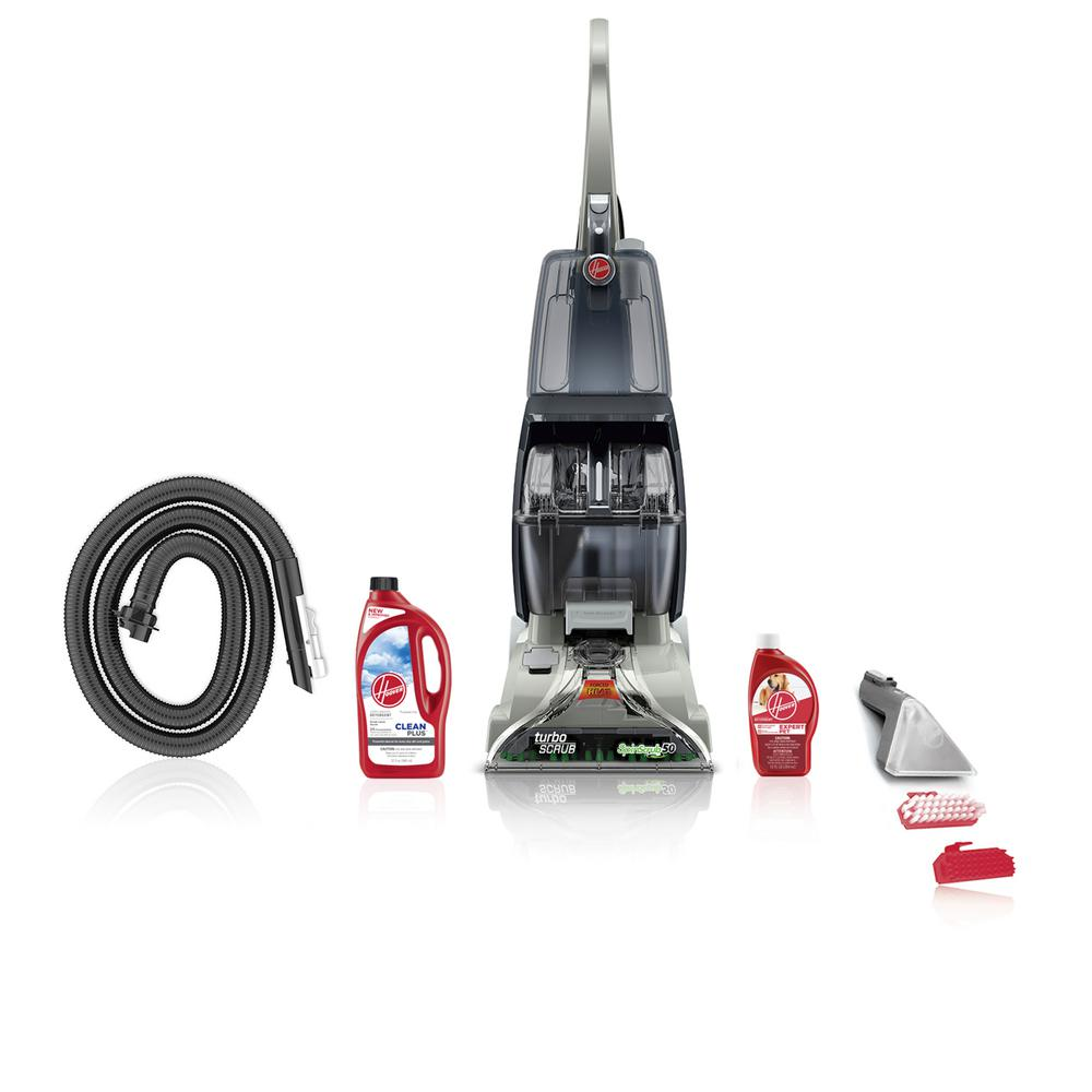 Hoover Turbo Scrub Upright Carpet Cleaner Expert Pet Bundle