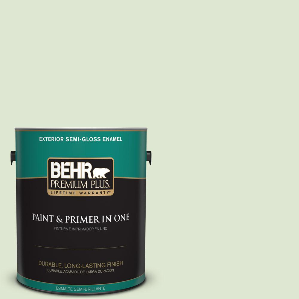 1-gal. #M370-2 Cabbage Leaf Semi-Gloss Enamel Exterior Paint