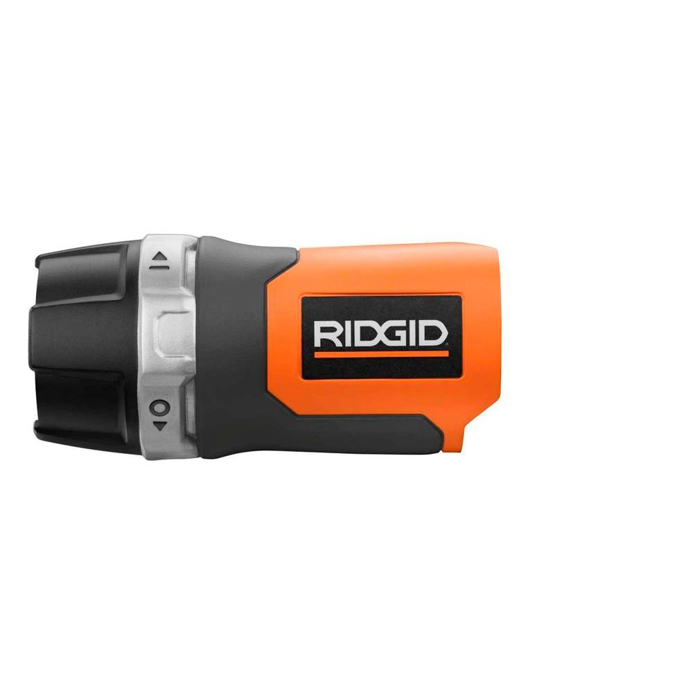 ridgid 12 volt led light console r82920n the home depot. Black Bedroom Furniture Sets. Home Design Ideas