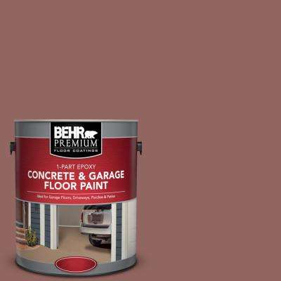 1 gal. #PFC-09 Giant Sequoia 1-Part Epoxy Satin Interior/Exterior Concrete and Garage Floor Paint