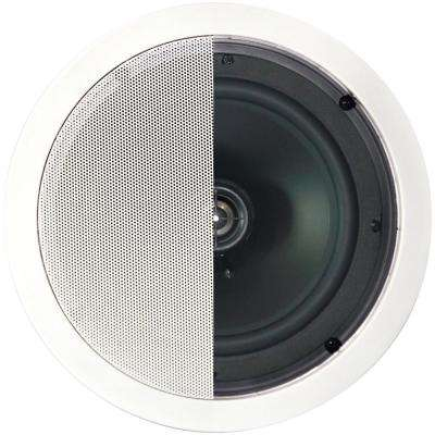 125-Watt 2-Way 8 in. In-Celling Speaker with Pivoting Tweeter