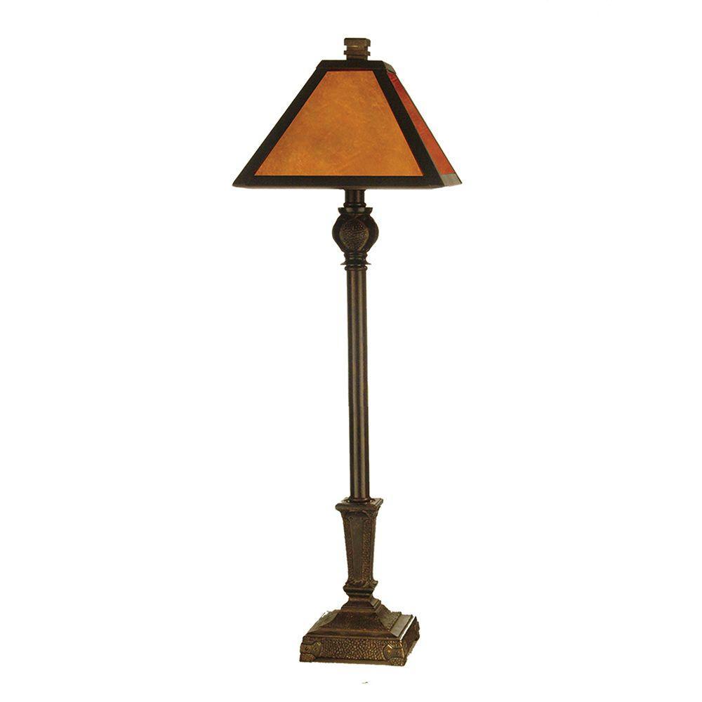 Fieldstone Amber Buffet Table Lamp