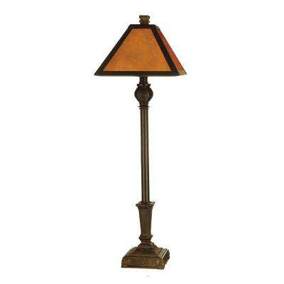 Fieldstone Amber Buffet Table Lamp