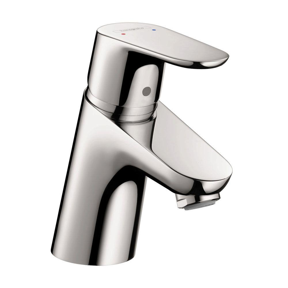 Hansgrohe Focus E 70 Single Hole 1-Handle Bathroom Faucet without Pop-Up in Chrome