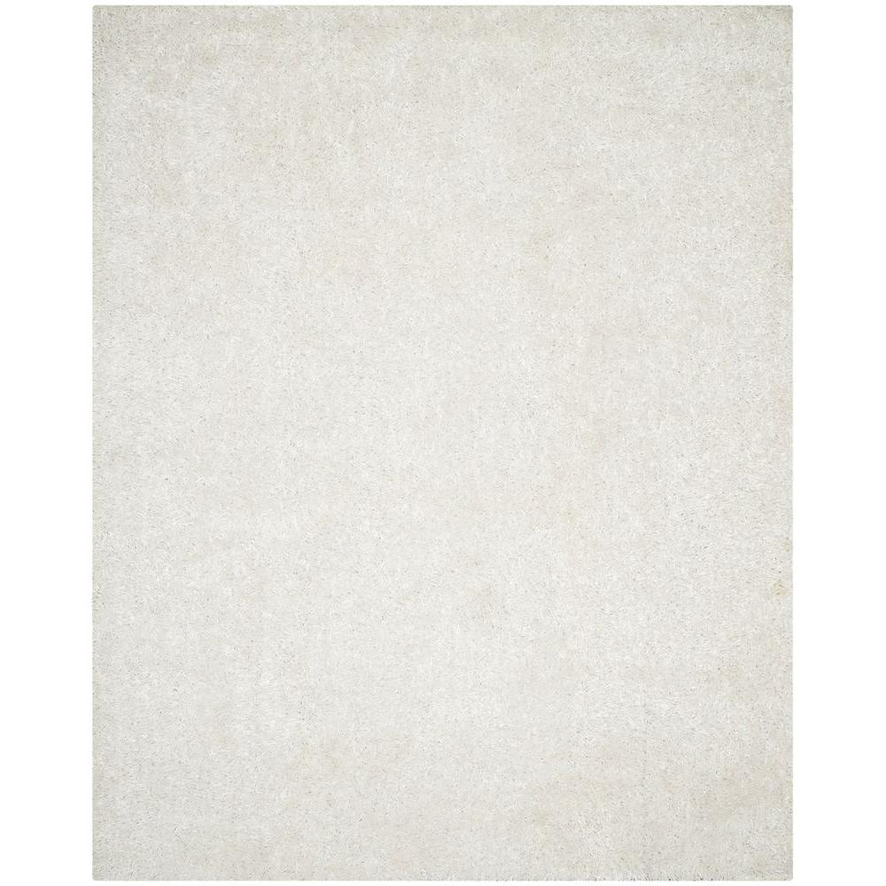 Safavieh New Orleans Shag Off White 5 Ft X 8 Ft Area Rug