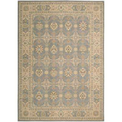 Persian Empire Slate 8 ft. x 10 ft. Area Rug