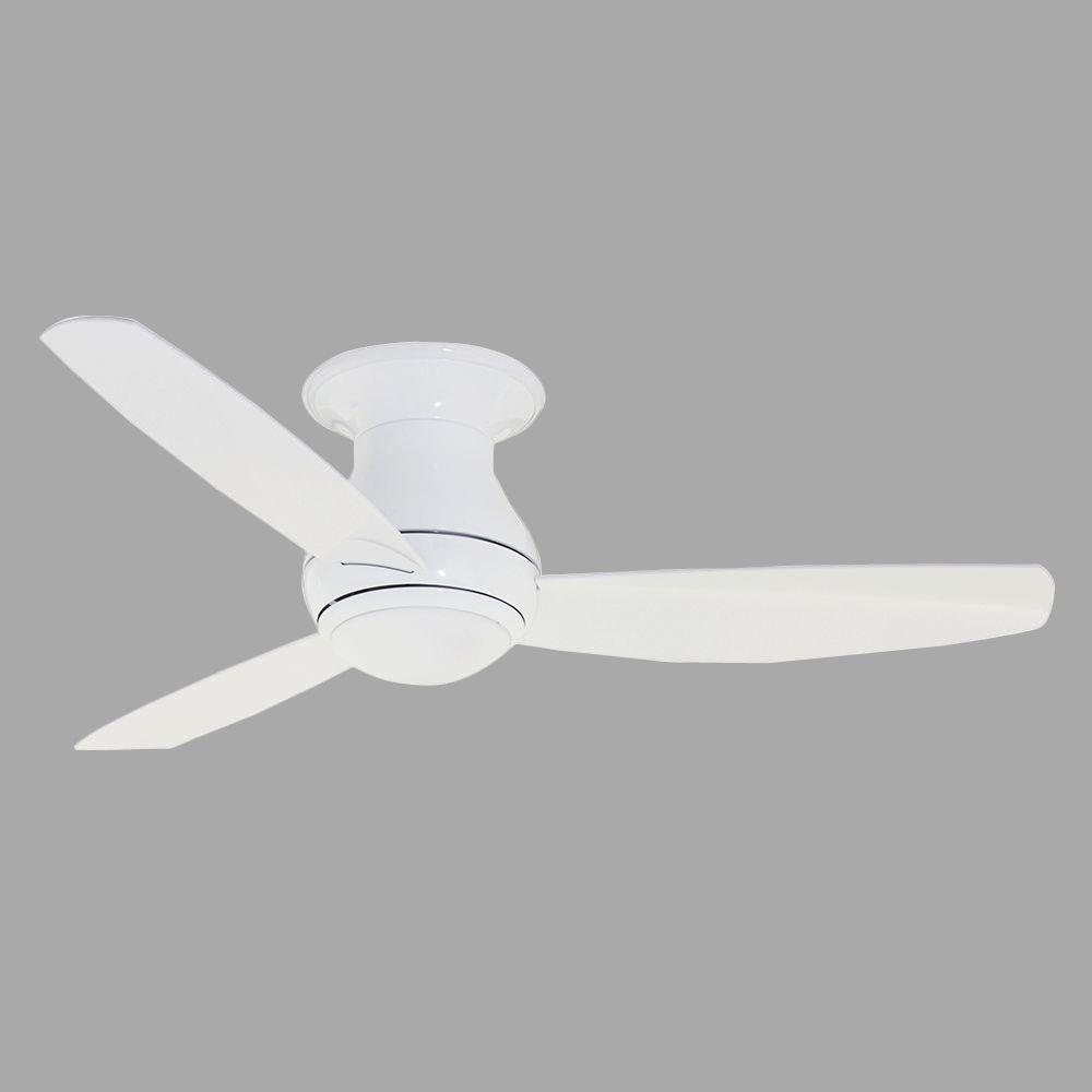 Illumine Zephyr 44 in. Outdoor Appliance White Ceiling Fan