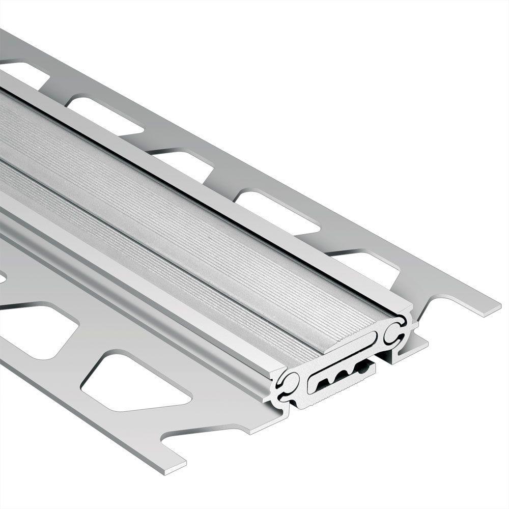 Dilex-BT Satin Anodized Aluminum 11/16 in. x 8 ft. 2-1/2 in.