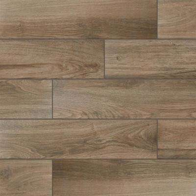 EverMore Sierra Wood 6 in. x 24 in. Porcelain Floor and Wall Tile (14.55 sq. ft. / case)