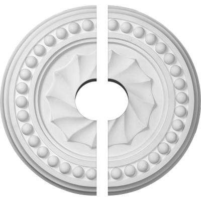 15-3/4 in. O.D. x 3-1/2 in. I.D. x 2 in. P Foster Ceiling Medallion (2-Piece)