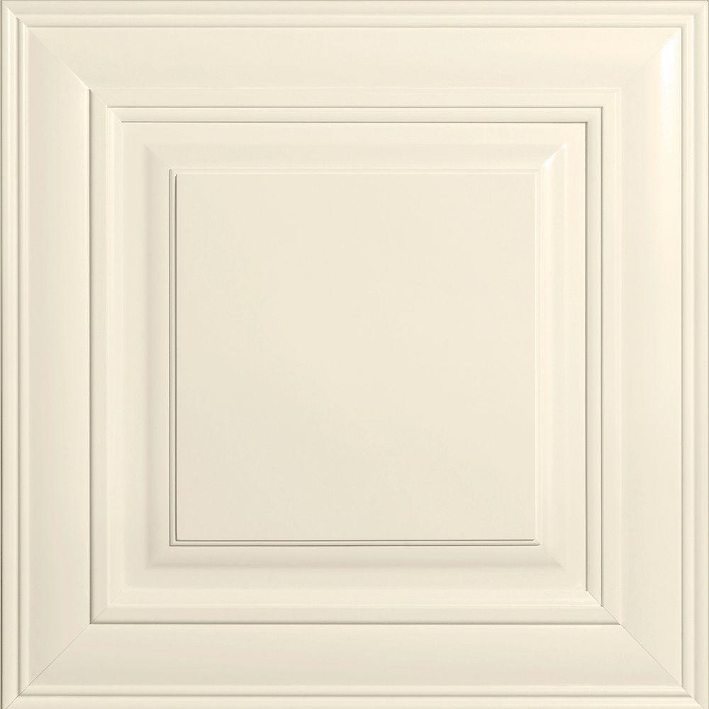 14-9/16x14-1/2 in. Cabinet Door Sample in Savannah Painted Linen