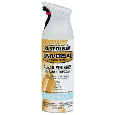 11 oz. All Surface Frosted Pearl Clear Topcoat Spray Paint (6-Pack)