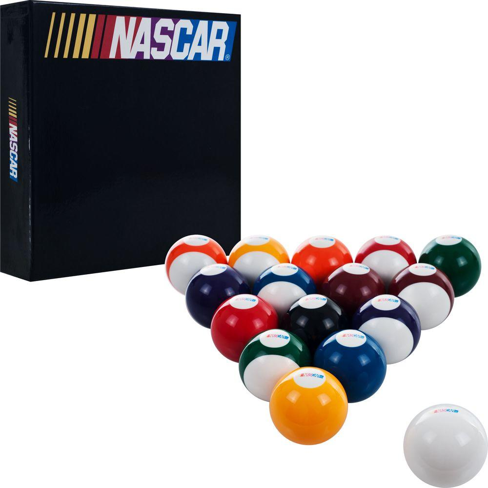 Merveilleux Trademark Games NASCAR Billiard Balls (Set Of 16 Balls)